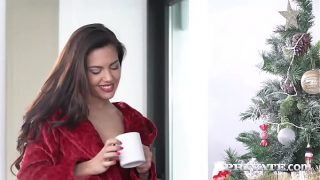 Apolonia Lapiedra fucked hard while her cuckold husband whatches